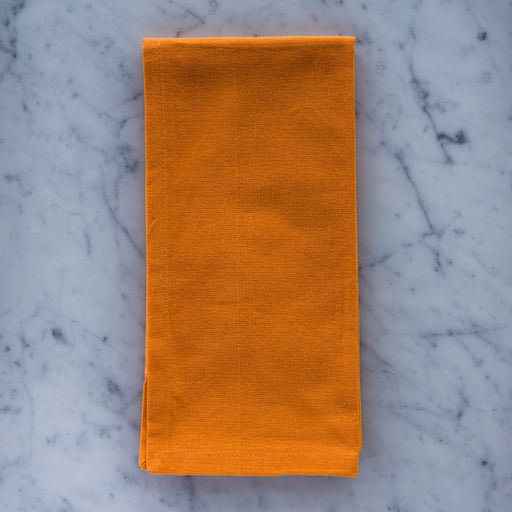 "Bright Orange 100% Cotton Napkin (22"")"