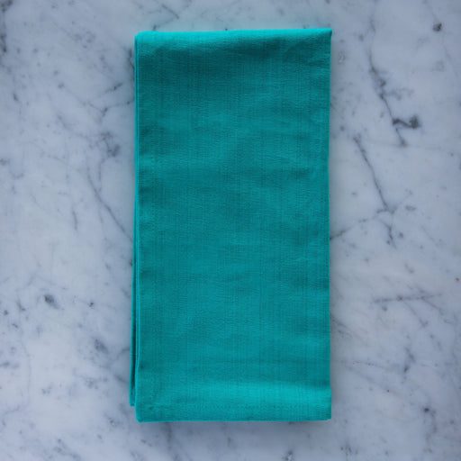 "Bright Turquoise 100% Cotton Napkin (22"")"