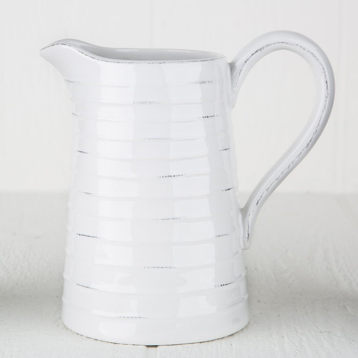 Broc Paris White Pitcher