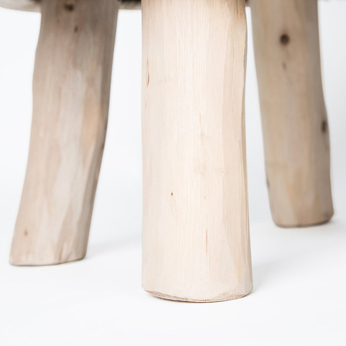 Brown Nordic Sheep Stool