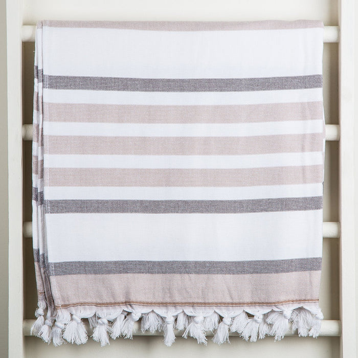 Brown Oasis Towel