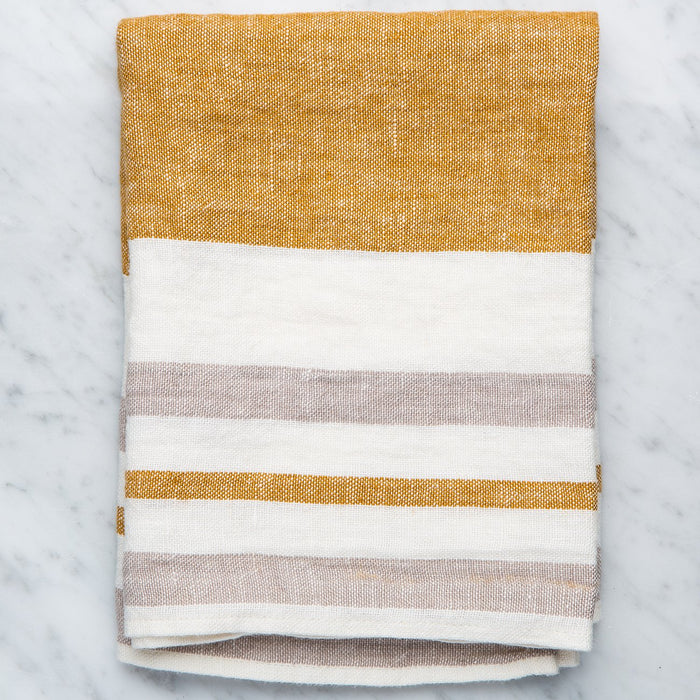 Brown Torchon Tea Towel
