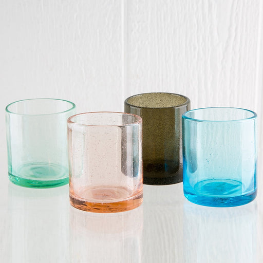 Bubble Glass Votives