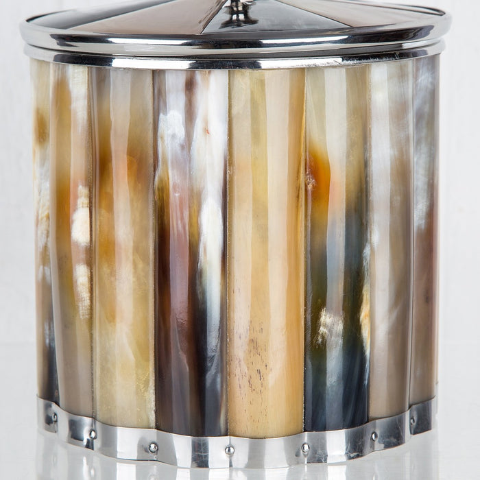 Buffalo Horn Ice Bucket