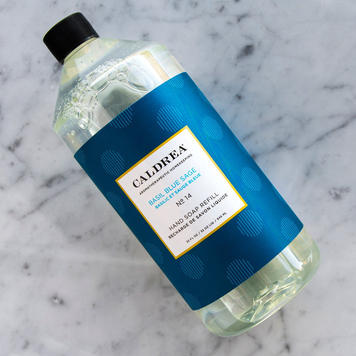 Caldrea Basil Blue Sage Hand Soap Refill (946 ml)