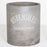 Cement Utensil Holder (Large)