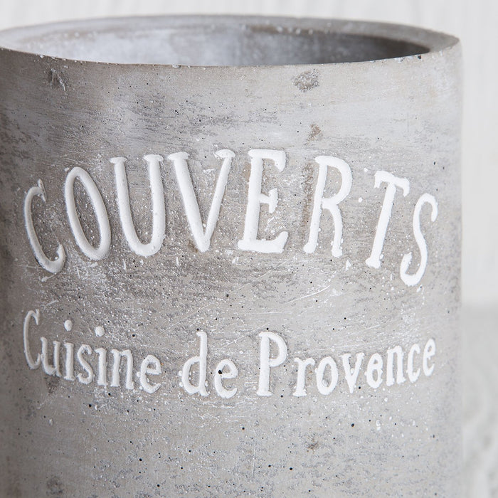 Cement Utensil Holder (Small)