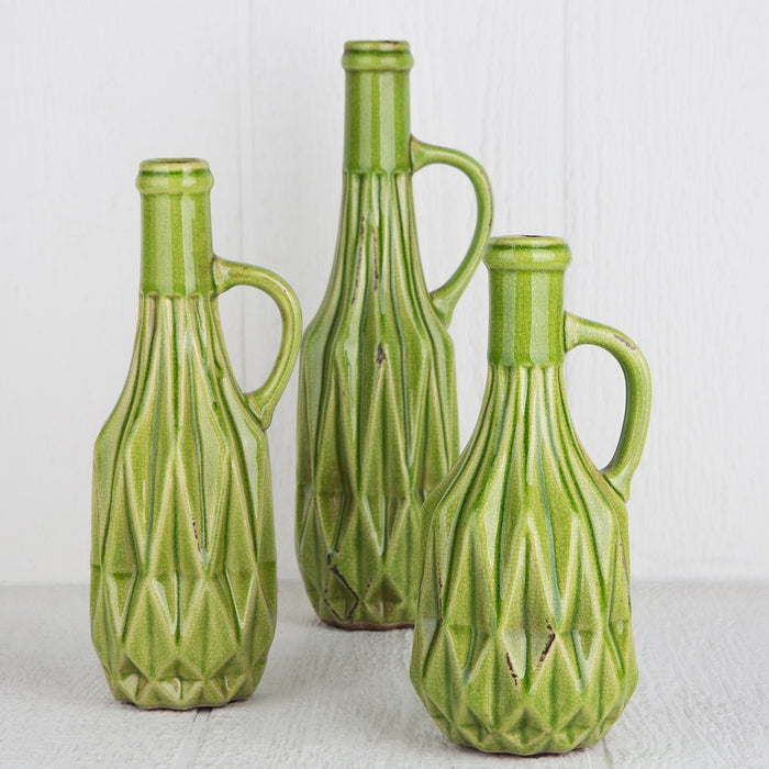 Ceramic Bottle Vase - Large