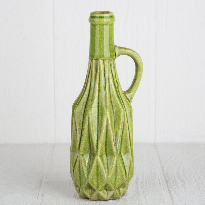 Ceramic Bottle Vase - Medium