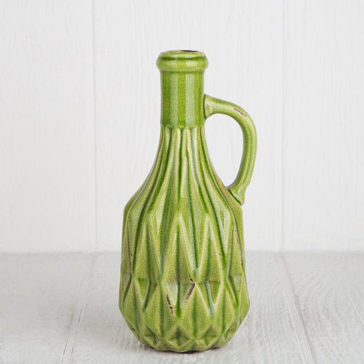 Ceramic Bottle Vase - Small