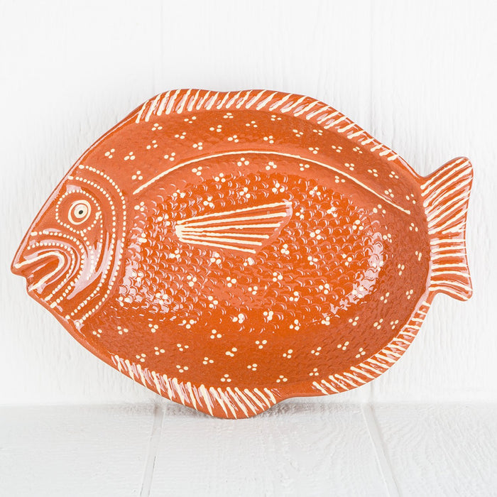 Ceramic Fish Presentation Platter