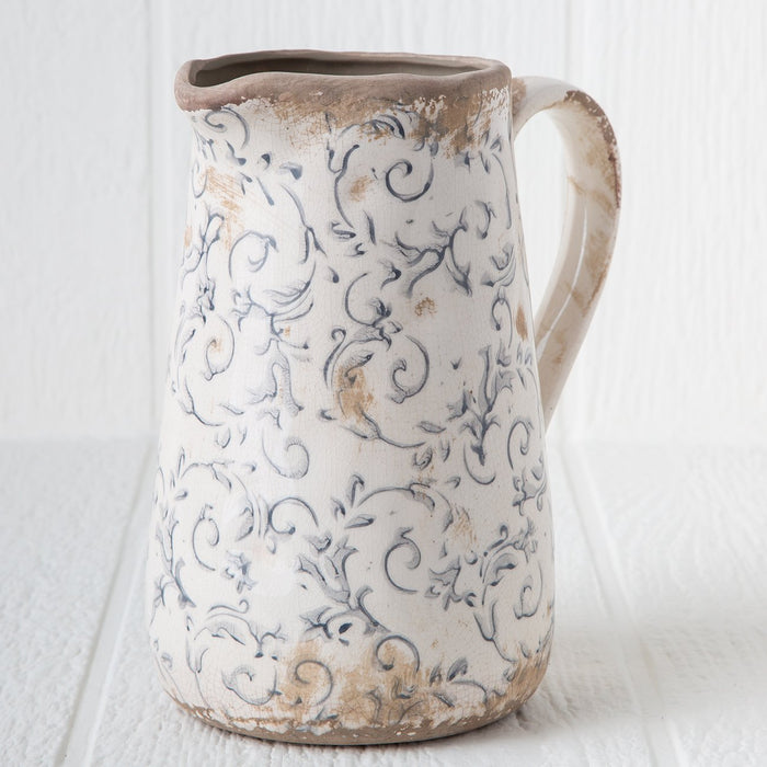 Ceramic Victoria Pitcher