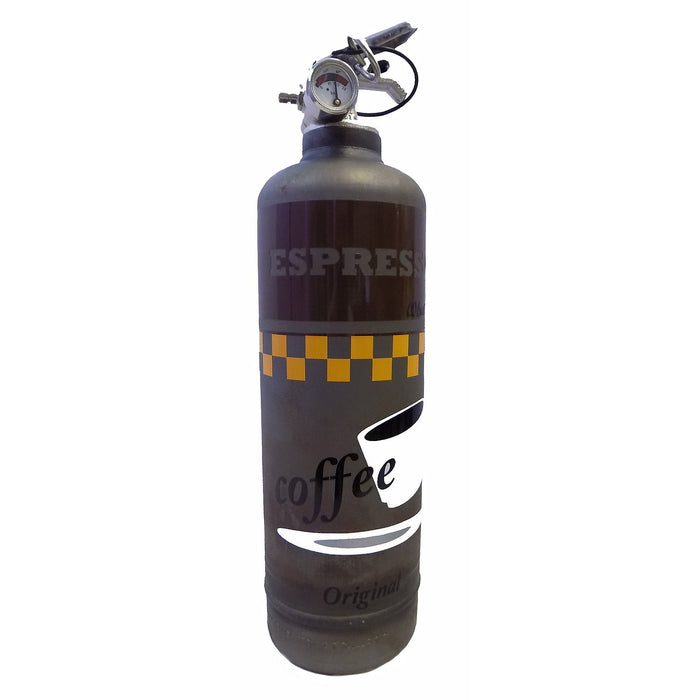 Charcoal Grey Expresso Fire Extinguisher with Stand