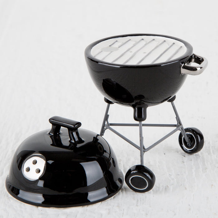 Charcoal Grill Salt & Pepper Shakers