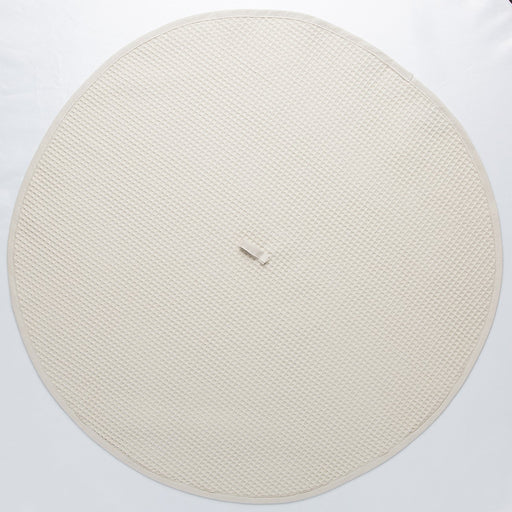 Circular Beige Kitchen Towel