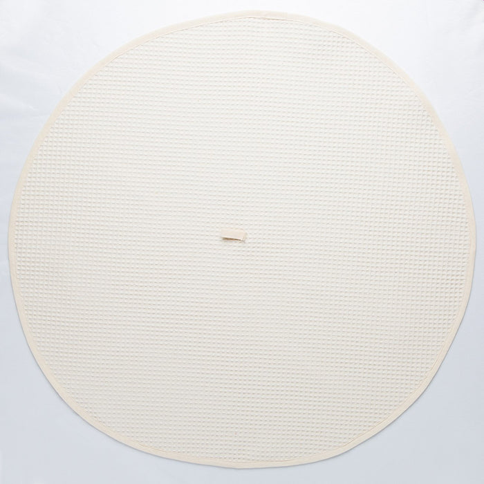 Circular Cream Kitchen Towel