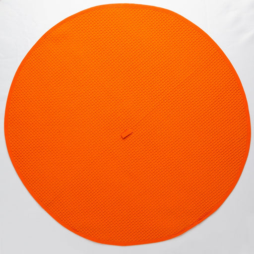 Circular Orange Kitchen Towel