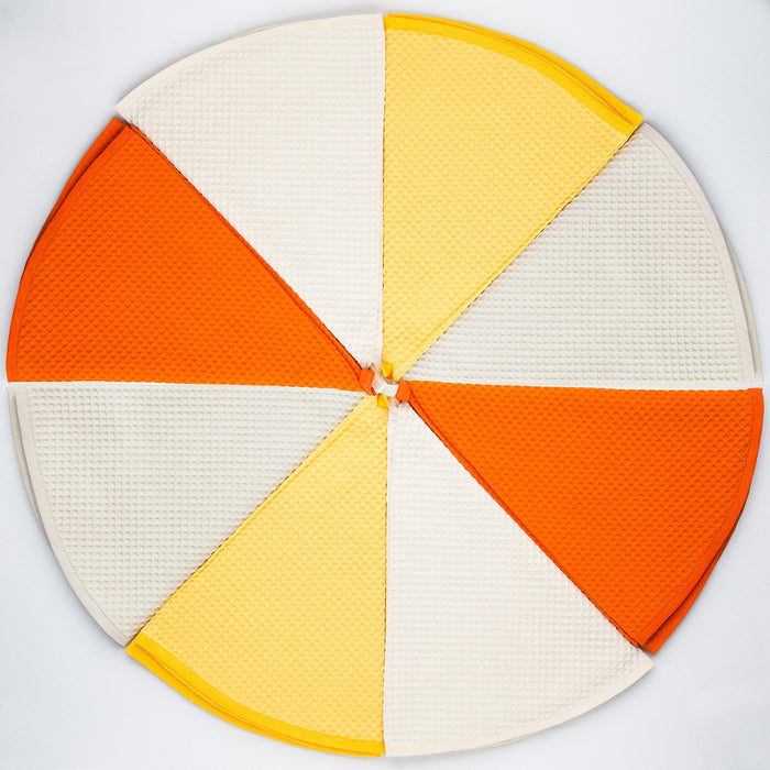 Circular Yellow Kitchen Towel