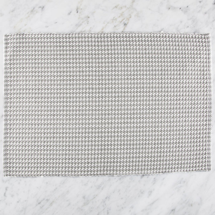 "Classic Grey Pattern 100% Cotton Rep Weave Placemat (19"" x 13.25"")"