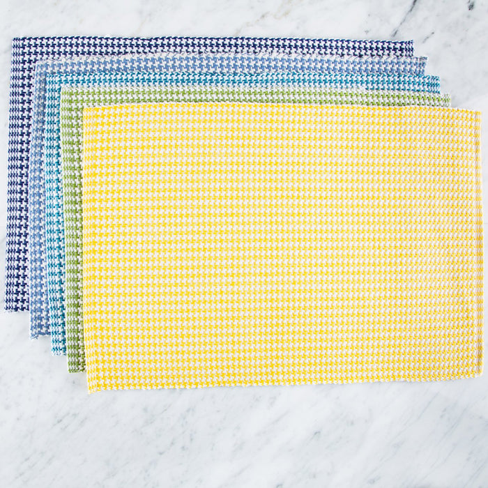 "Classic Winter Sky Pattern 100% Cotton Rep Weave Placemat (19"" x 13.25"")"