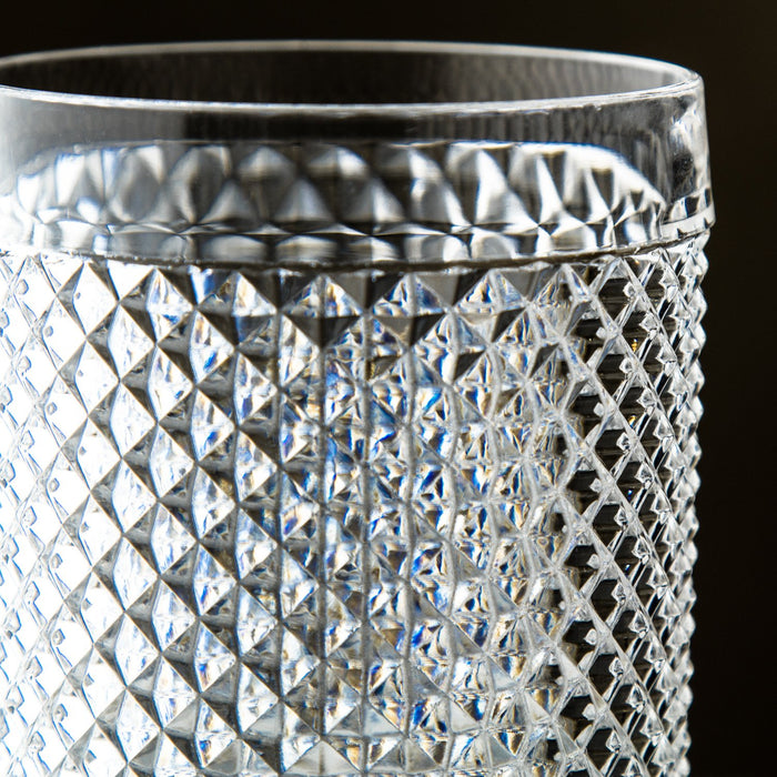 Clear Acrylic Diamond Tumbler (14oz)