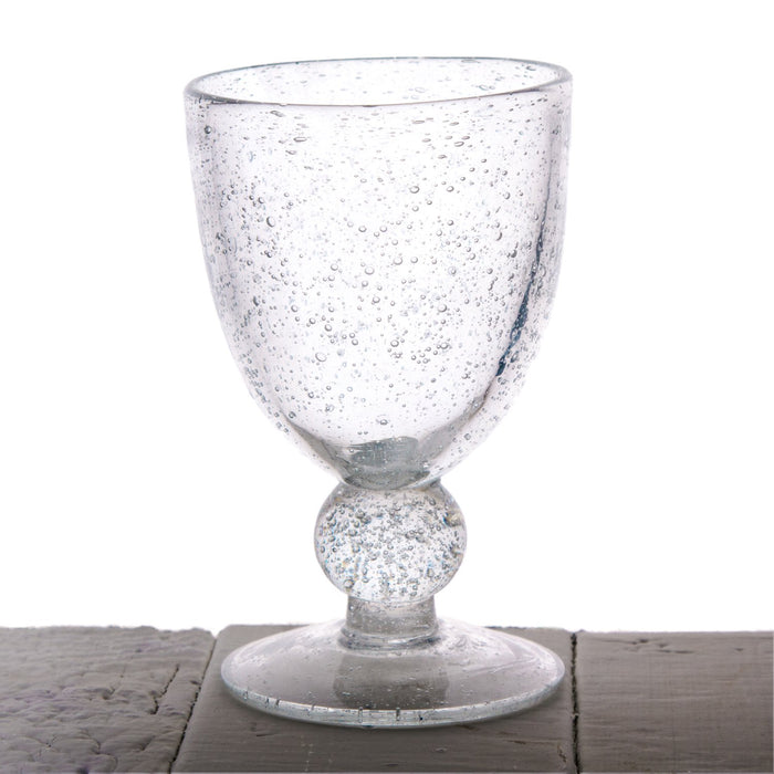 Clear Biot Victor Wine Glass