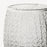 Clear Textured Double Old-Fashioned Glass
