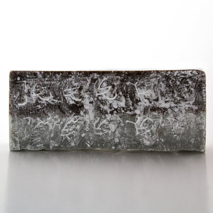Cold Processed 100% Natural Patchouli Soap Block (500g)