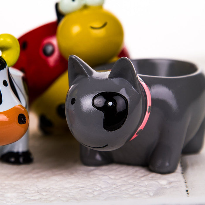 Colorful Baby Kitten Egg Cup