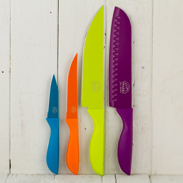 Colorful Cutlery 4 Piece Knife Set