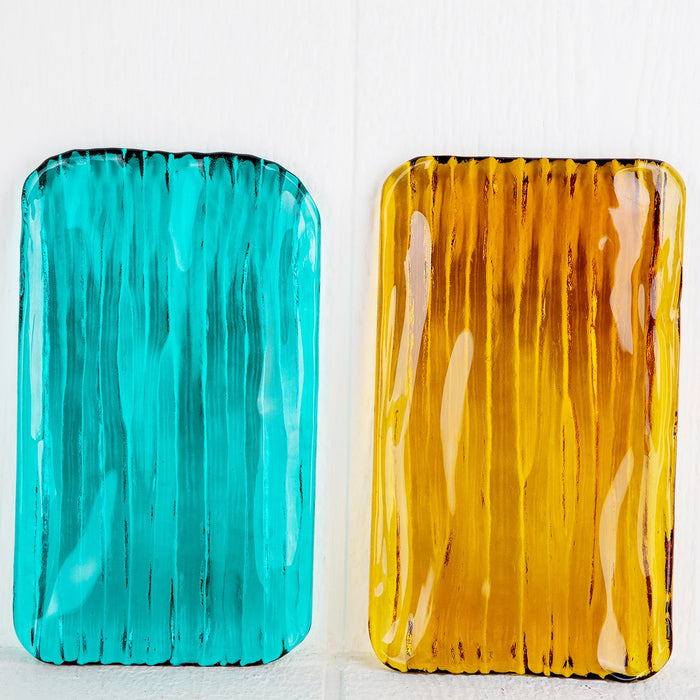 Colorful Glass Trays