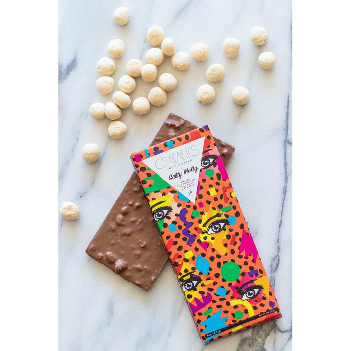 Compartes Chocolate Bar - Salty Malty