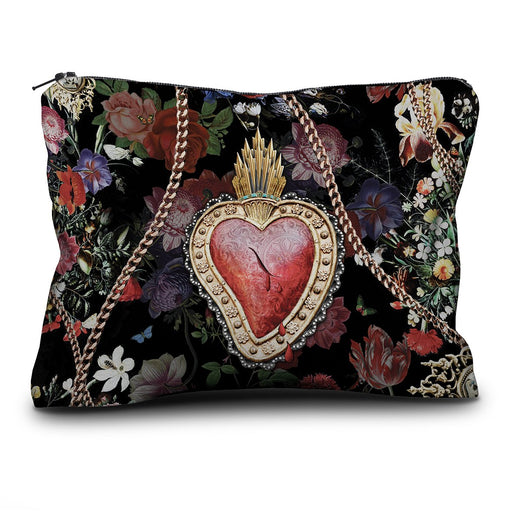 Corazon French Velvet Pouch