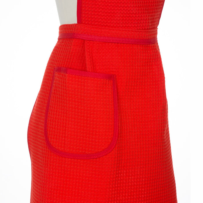 Cotton Waffle-Weave Aprons