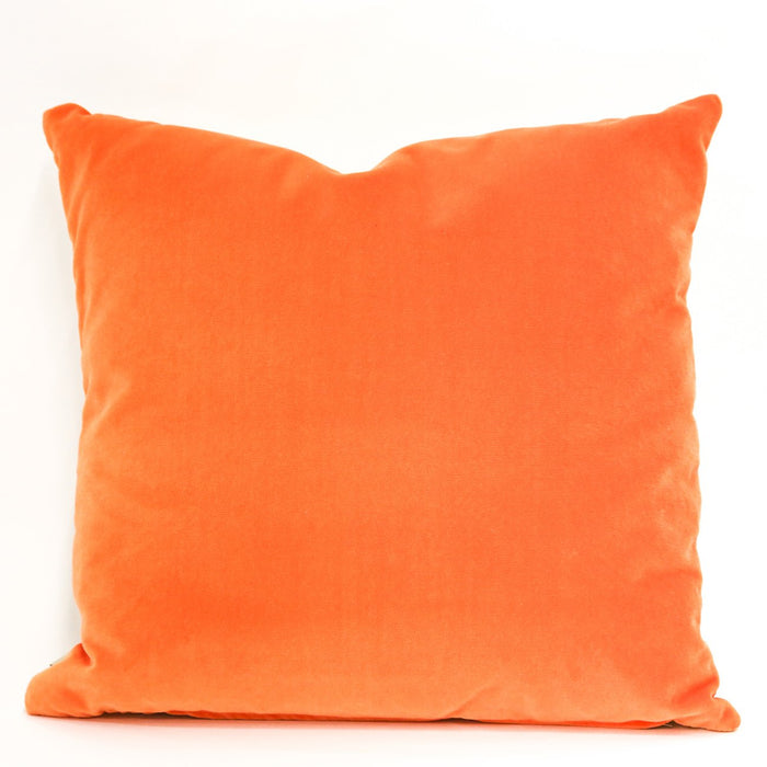 Cream and Orange Keep Calm Pillow