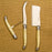 Cream Laguiole 3 Piece Wine and Cheese Set