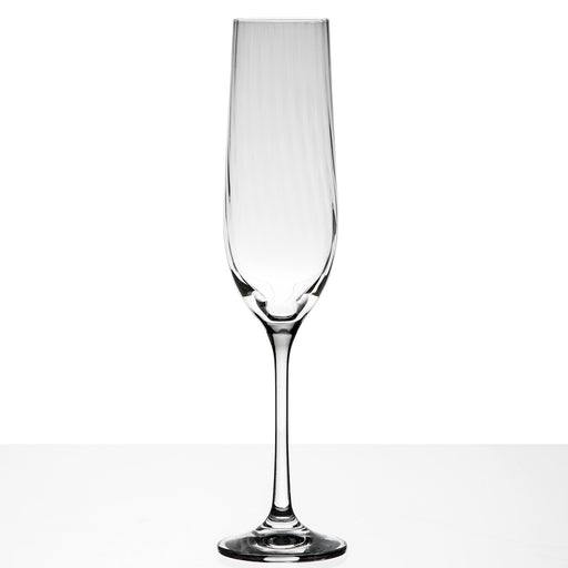 Crystal Waterfall Champagne Flute