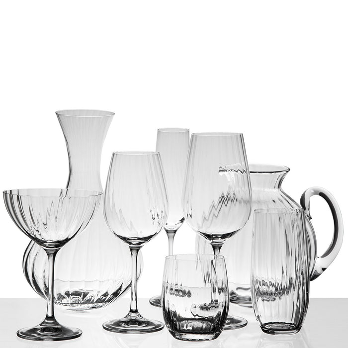 Crystal Waterfall Stemware