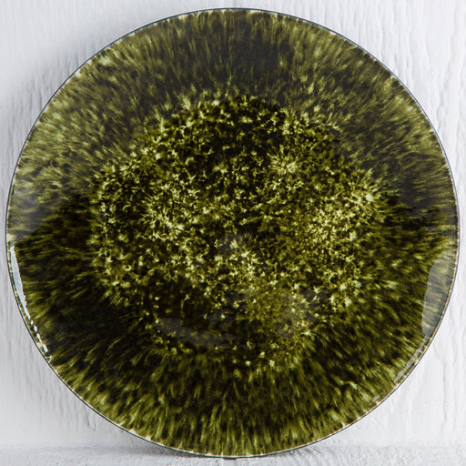 Dark Green Forest Charger Plate