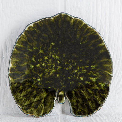 Dark Green Reniform Forest Leaf