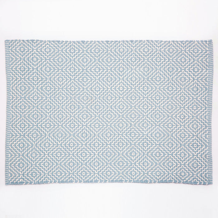 Dash & Albert Blue Beatrice Indoor / Outdoor Rug