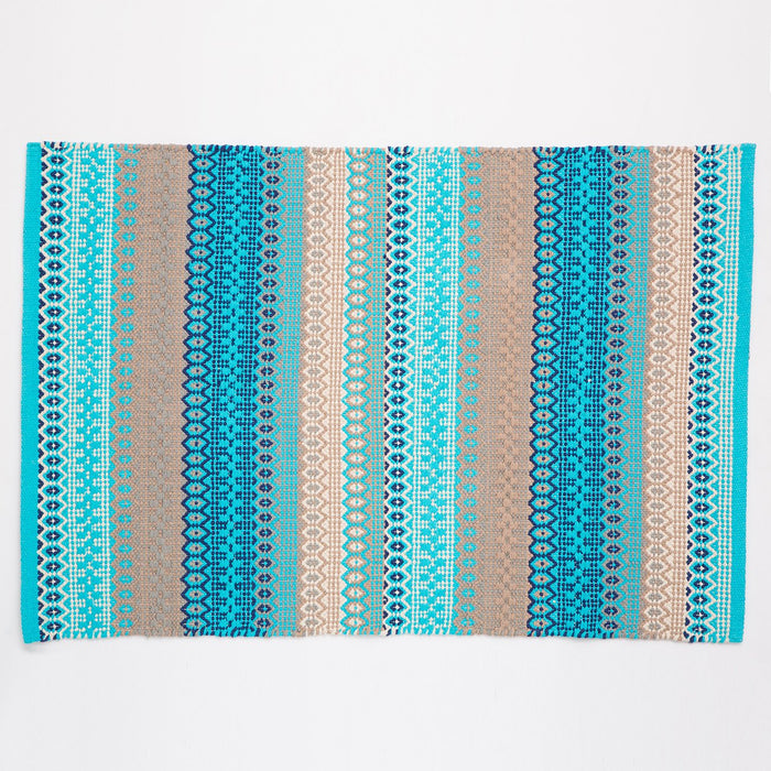 Dash & Albert Blue Gypsy Indoor / Outdoor Rug