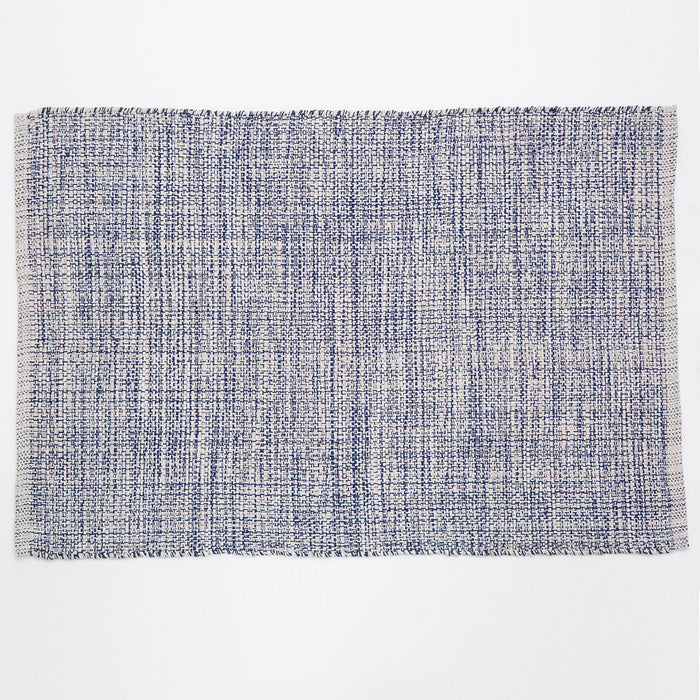 Dash & Albert Blue Marled Indoor / Outdoor Rug