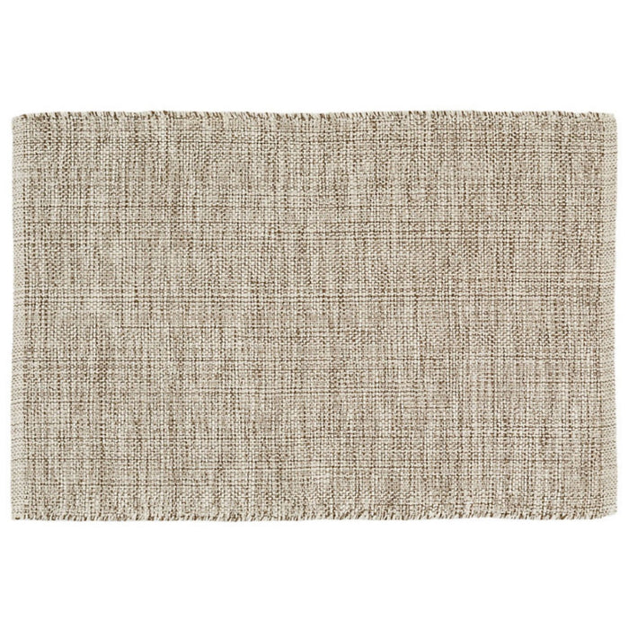 Dash & Albert Marled Brown Indoor / Outdoor Rug