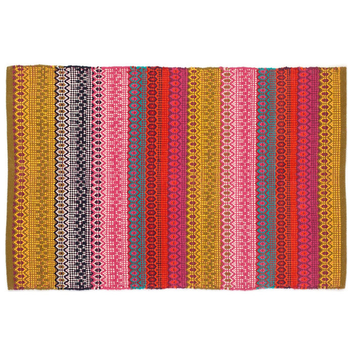 Dash & Albert Pink Gypsy Indoor / Outdoor Rug