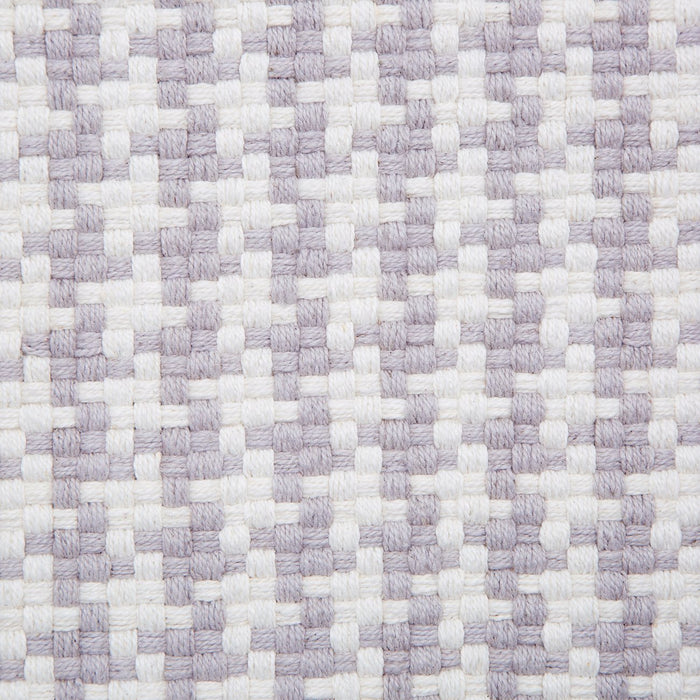 Dash & Albert Purple Checks Indoor / Outdoor Rug