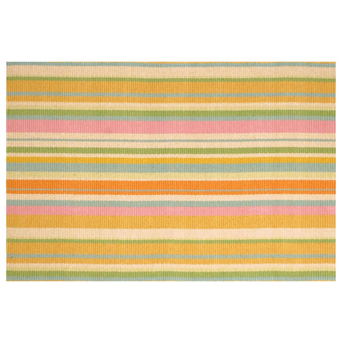 Dash & Albert Tangerine Indoor / Outdoor Rug