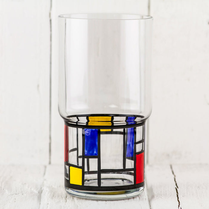 Des Stijl Tall Glass