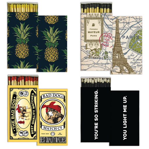 Design Matchboxes