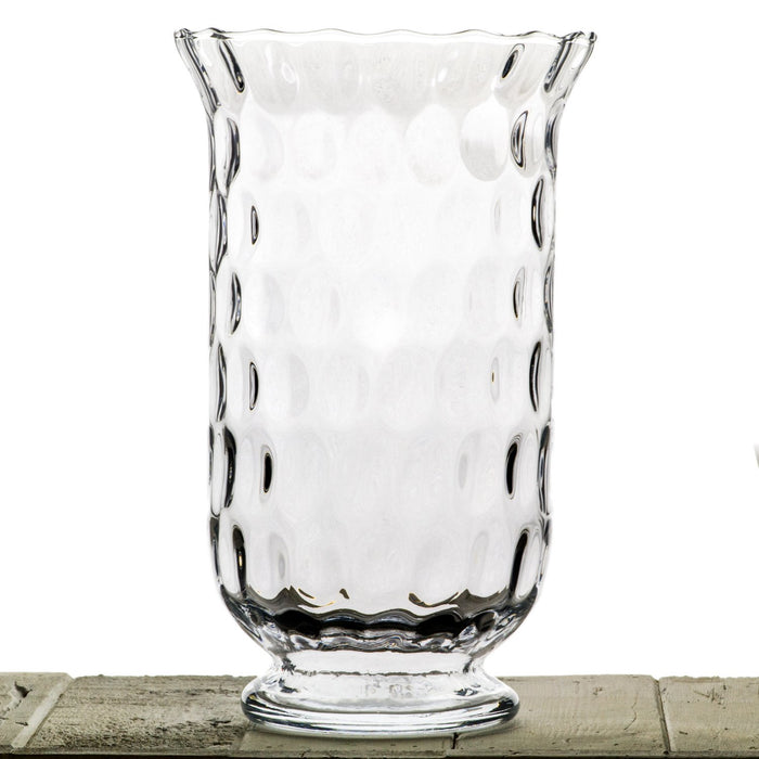 Dimpled Glass Hurricane